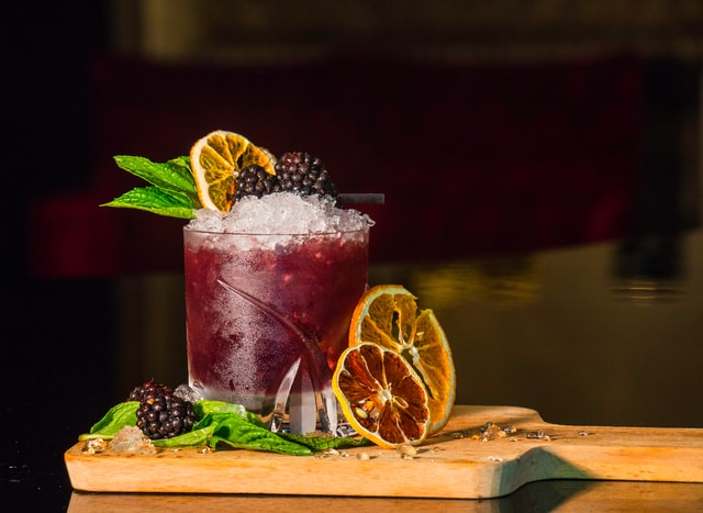 Blackberry Mint CBD Mocktail